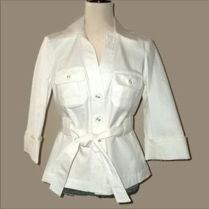 The Limited OBR  ivory blazer great condition